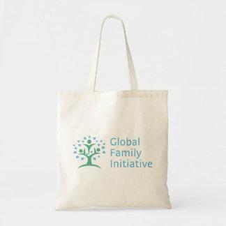 The Global Family Initiative tote bag