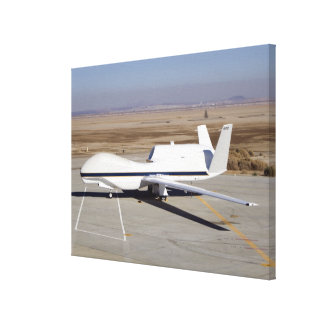 The Global Hawk unmanned aircraft Canvas Print