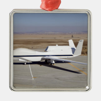 The Global Hawk unmanned aircraft Christmas Ornaments