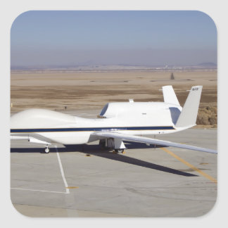 The Global Hawk unmanned aircraft Stickers