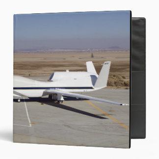 The Global Hawk unmanned aircraft Vinyl Binder