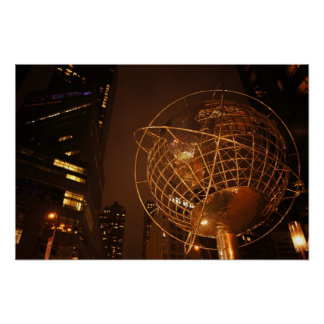 The Globe at Columbus Circle, Medium Posters