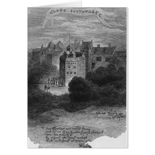 The Globe Theatre, Bankside, Southwark Card