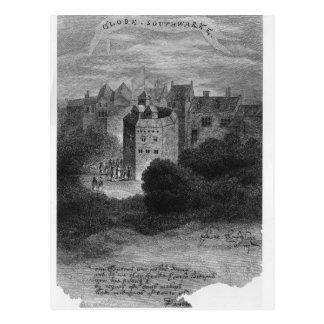 The Globe Theatre, Bankside, Southwark Postcard