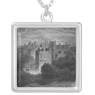 The Globe Theatre, Bankside, Southwark Silver Plated Necklace