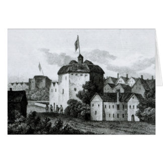 The Globe Theatre on the Bankside Card