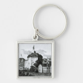The Globe Theatre on the Bankside Keychain