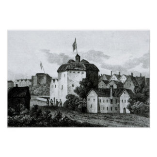 The Globe Theatre on the Bankside Poster