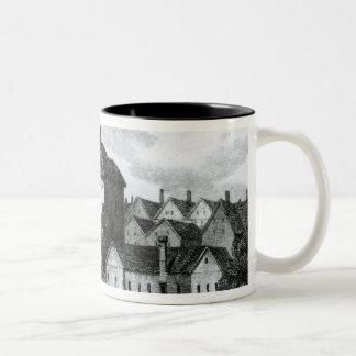 The Globe Theatre on the Bankside Two-Tone Coffee Mug