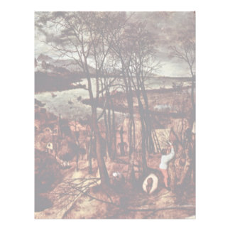 The Gloomy Day (Month Of February Or March) By Bru Letterhead Design