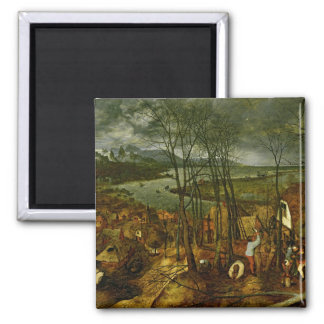 The Gloomy Day - Spring 1559 Refrigerator Magnets