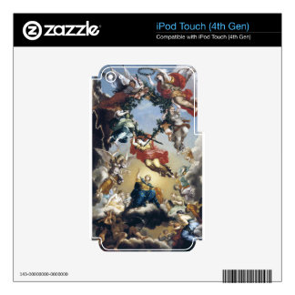 The Glorification of the government of Burgundy Skins For iPod Touch 4G
