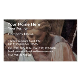 The Glorification Of The Holy Sacrament By Raffael Business Card Template