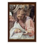 The Glorification Of The Holy Sacrament By Raffael Card