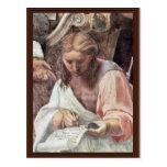 The Glorification Of The Holy Sacrament By Raffael Postcard