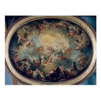 The Glorification of the Virgin, 1731 Postcard