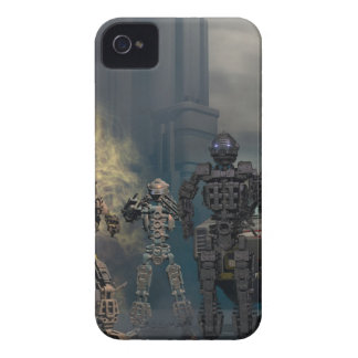 the glorious seven robots b iPhone 4 cover