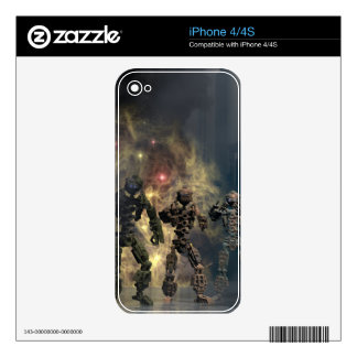 the glorious seven robots b skins for the iPhone 4