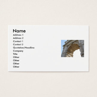 The  Glory of Ancient Rome Business Card