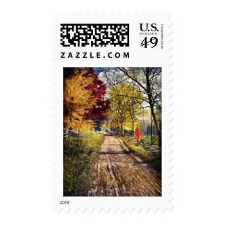 The Glory of Autumn Trees Postage
