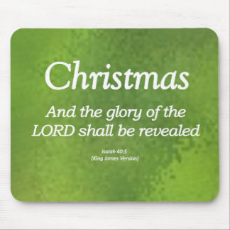 The Glory of God Shall be Revealed Isaiah 40-5 Mouse Pad
