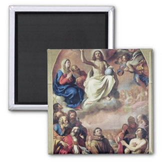 The Glory of the Saints, 1645-47 2 Inch Square Magnet