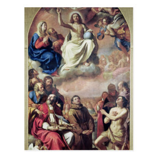 The Glory of the Saints, 1645-47 Postcard