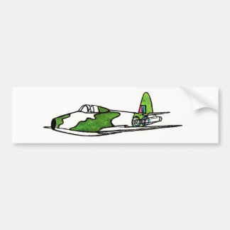 The Gloster Whittle, WW2 Bomber Bumper Sticker
