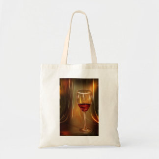 The glow of red wine tote bag