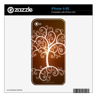 The Glowing Tree Skin For The iPhone 4S