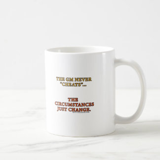 The GM Never Cheats Coffee Mug