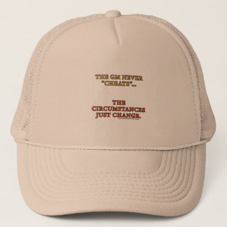 The GM Never Cheats Trucker Hat