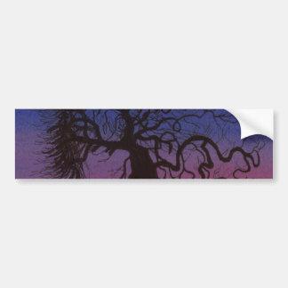 The Gnarly Tree Bumper Sticker