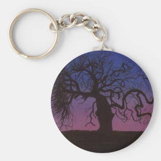 The Gnarly Tree Keychain