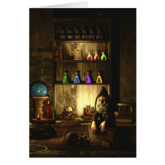 The Gnome Magus Greeting/Note Card