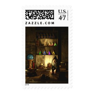 The Gnome Magus Postage