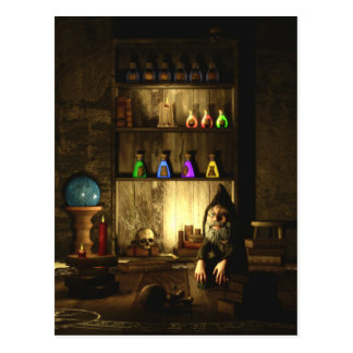 The Gnome Magus Postcard