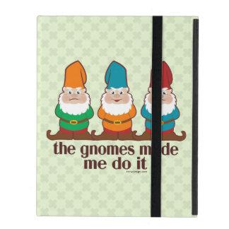 The Gnomes Made Me Do It iPad Folio Case
