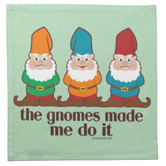 The Gnomes Made Me Do It Napkin
