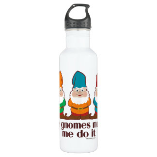 The Gnomes Made Me Do It Stainless Steel Water Bottle
