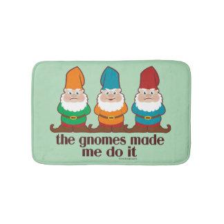 The Gnomes Made Me Do It Bath Mats