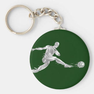 The Goal scorer - Soccer football fans gifts Basic Round Button Keychain