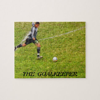 THE GOALKEEPER JIGSAW PUZZLE