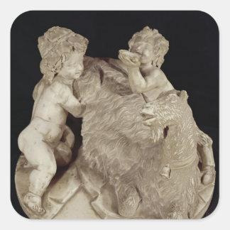 The Goat Amalthea, c.1615 Square Sticker
