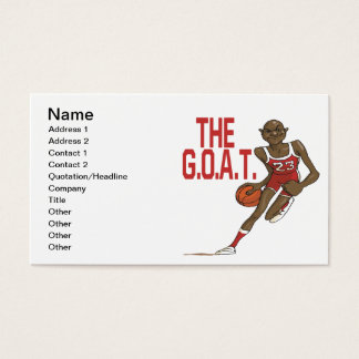 The GOAT Business Card