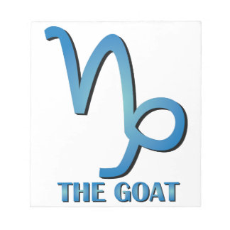 The Goat Memo Notepads