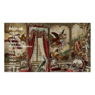 The Gobelin Tapestries, Linderhof Castle, Upper Ba Business Card Template