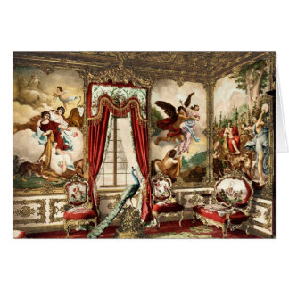 The Gobelin Tapestries Linderhof Palace Greeting Card