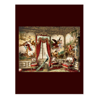 The Gobelin Tapestries Linderhof Palace Postcard