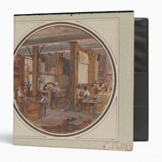 The Gobelins Workshop, 1840 Binder